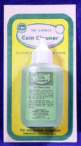 Nic-A-Spray 1.25 oz Silver Coin Cleaner by Nic-A-Lene