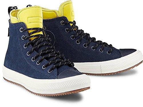 Converse Herren Sneaker 153569C II Boot Hi Schuhe in Navy/Bitter Lemon , Size:41.5 EU