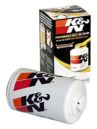 HP-2009 K&N Performance Oil Filter; AUTOMOTIVE (Automotive Oil Filters):