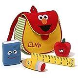 "GUND Sesame Street Elmo's Book Bag, 7"""