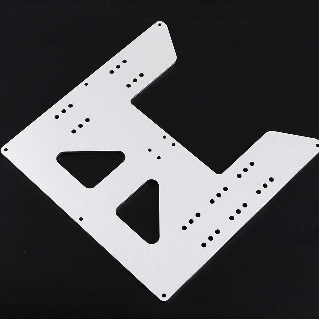 Homyl 1x Aluminum Y Carriage Plate Upgrade Repair Part for Prusa i3 Anet A8 A6 3D Printer