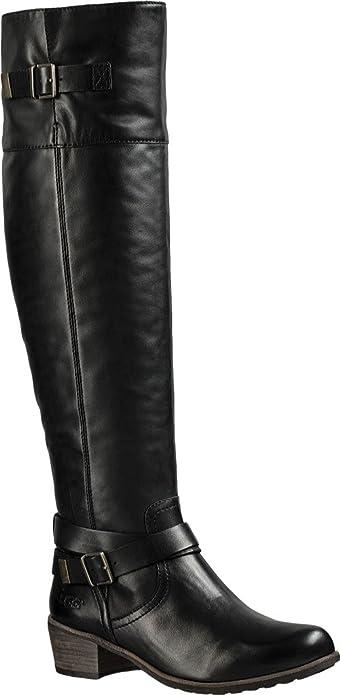 4c686d11fb6 UGG Women's Bess Black Boot 9.5 B (M): Amazon.co.uk: Shoes & Bags