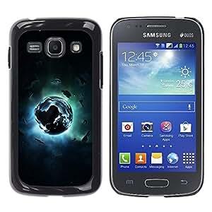 TECHCASE**Cubierta de la caja de protección la piel dura para el ** Samsung Galaxy Ace 3 GT-S7270 GT-S7275 GT-S7272 ** Abstract Space