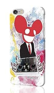 Deadmau5 Pattersn Image - Protective 3d Rough Case Cover - Hard Plastic 3d Case - For iphone 5C -
