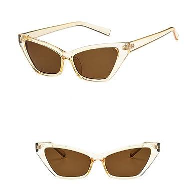 Cocoty-store 2019 Gafas de sol polarizadas retro medio marco ...
