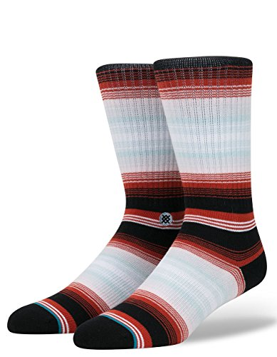 Stance M526D17FOU Men's Four Doors Socks, Black - L
