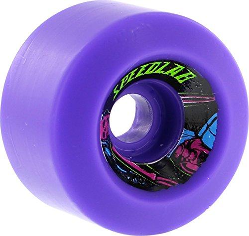 Speedlab Wheels Cruisers Purple Skateboard Wheels - 60mm 90a (Set of 4) BHBM523W2213