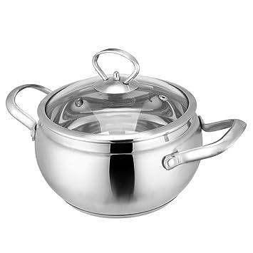 Marmitas elegante acero inoxidable sopa (Thickened fideos ...