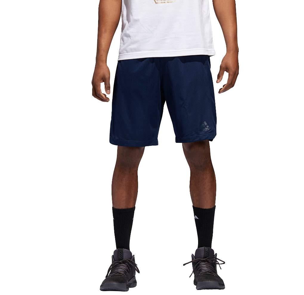 Bleu marine blanc petit 9 adidas Sport Basketball pour Homme Court