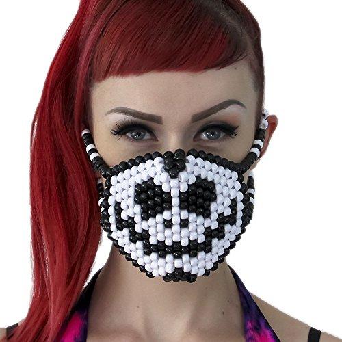 [Jack Skellington Surgical Kandi Mask by Kandi Gear] (Jack Skellington Mask)