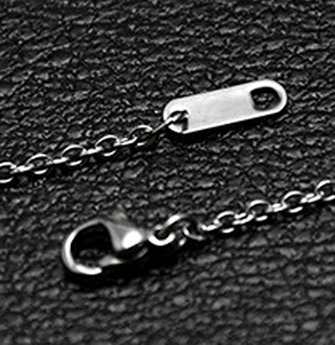 Womens Stainless Steel Love Heart Key Pendant Necklace  I Love You To The Moon and Back  Couple Lovers