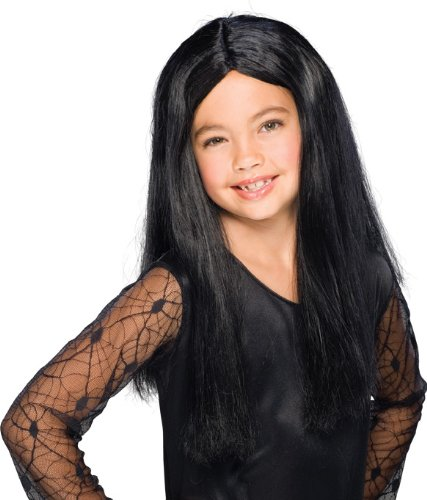 Child's Black Witch Wig (Girls Twilight Witch Costume)