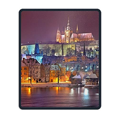 Beautiful Prague Non-Slip Rubber Mousepad Custom Gaming Mouse Pad Rectangle -