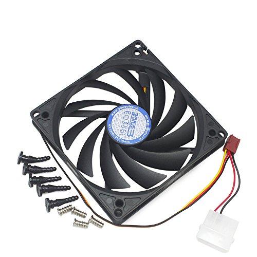Fan Mm 100 - 100mm & 90mm x15mm Dual Holes design Cooler Cooling Fan for HTPC Case CPU VGA