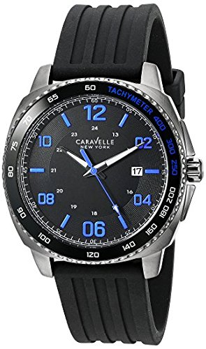 Caravelle New York Men's Quartz Stainless Steel Dress Watch (Model: 45B144) -  Bulova Corporation