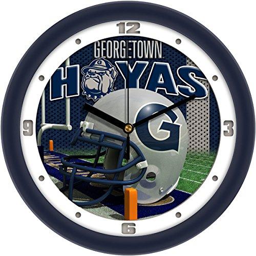 SunTime NCAA Georgetown Hoyas Helmet Wall Clock