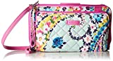 Vera Bradley Iconic Deluxe All Together Crossbody, Signature Cotton, Wildflower Paisley