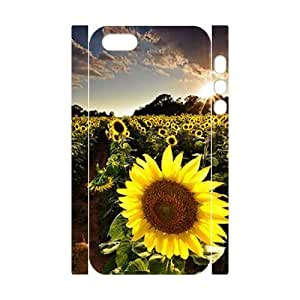 Sunflower 3D-Printed ZLB588659 DIY 3D Cover Case for Iphone 5,5S