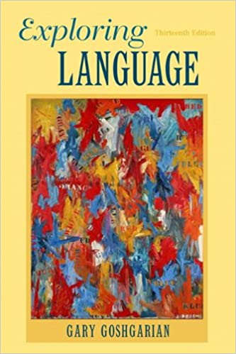 Amazon exploring language 13th edition 9780205172863 gary exploring language 13th edition 13th edition fandeluxe Image collections