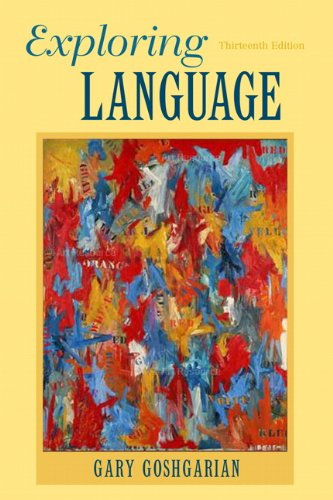 Exploring Language (13th Edition) by Pearson