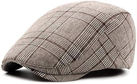 野球帽 キャスケット メンズ ハット ゴルフ 綿 調整可能 レトロ ソフト クラシック ハンチング LWQJP (Color : 3, Size : Free size)