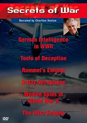 Secrets of War Collection (2-Disc Set) - German Intelligence in WWII / Tools of Deception / Rommel's Enigma / D-Day Deceptions / Women Spies in World War II / The Ultra Enigma by Charlton Heston