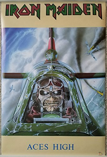 iron maiden aces high poster - 3