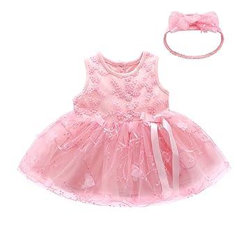 Arco del vestido de los bebés de la falda del algodón del mameluco del bebé de