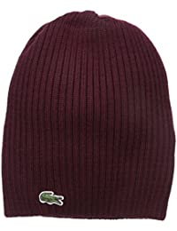 Men's Classic Wool Ribbed Knit Beanie