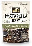 Sweet Balsamic & Golden Fig Portabella Jerky