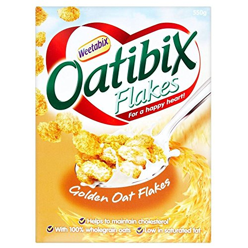 Weetabix Oatibix Flakes (550g) - Pack of 2