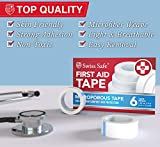 Swiss Safe First Aid Tape, Medical Microporous