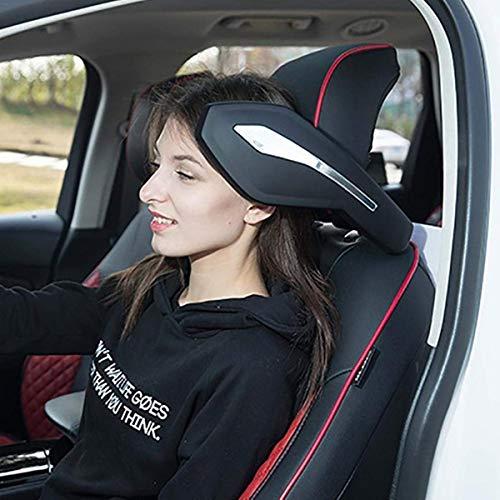 Casavidas Universal Car Seat Headrest Cervical Sponge Pillow Head Neck Support Pad Four Seasons