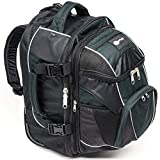 Portal Navigator Hybrid Wheeled Carry-On Backpack with Detachable Daypack