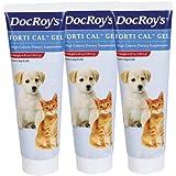 Doc Roys Forti Cal Gel 4.25oz, 3pk, My Pet Supplies