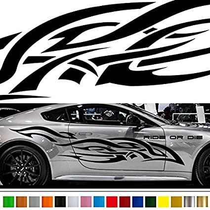 Tribal car sticker car vinyl side graphics wa41 car vinylgraphic car custom stickers decals 【8