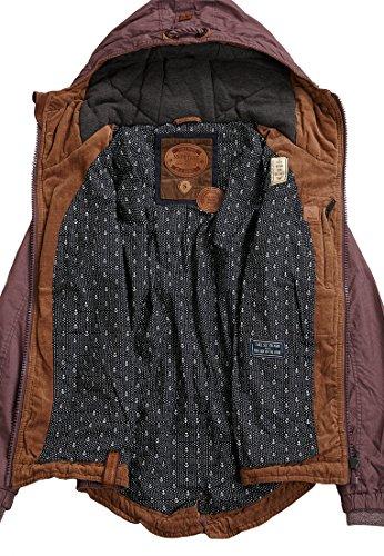 Naketano Jacket Female Aubergini Arsch L im rmel rxHnqawr6