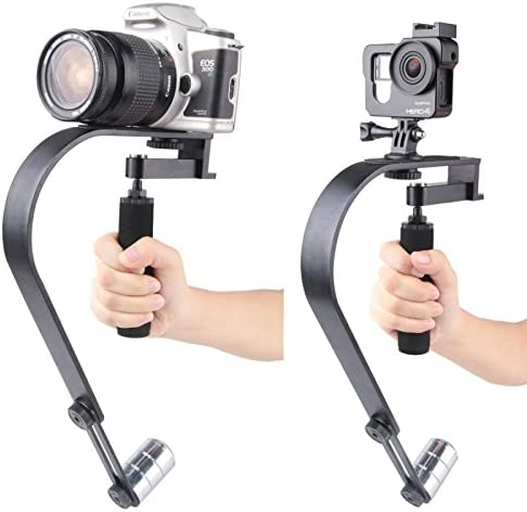 SHENGMASI Camera Stabilizer VV-12 Steadicam Handheld Stabilizer Camera Mount for SLR Camera