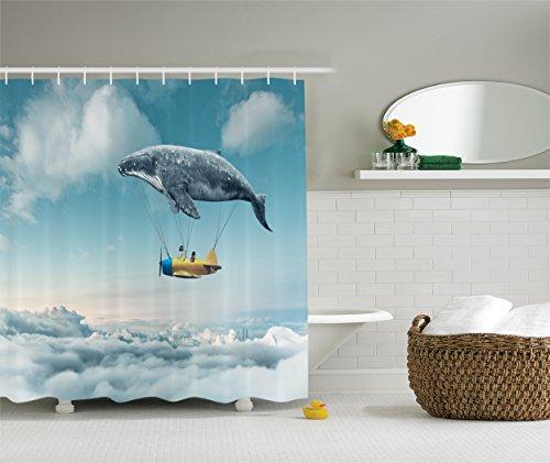 Ambesonne Aeroplane Childrens Polyester Bathroom