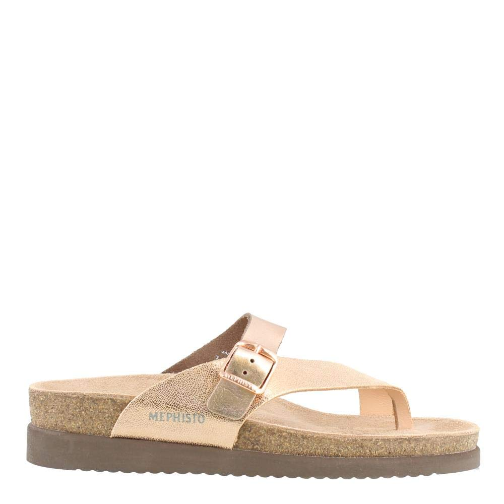Nude Venise Old Pink (pink gold) Star Mephisto Women's Helen Thong Sandal