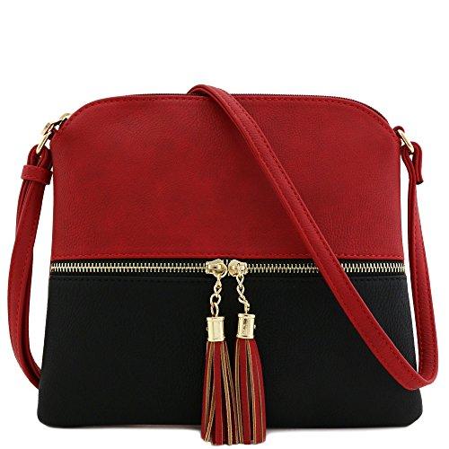 Colorblock Crossbody Bag - 3