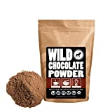 coffee bean chocolate powder - Organic Raw Cocoa Powder, Wild Dark Chocolate Powder, Handcrafted, Single-Origin, Fair Trade, Organically Grown Non-Alkalized Cacao from South American Cocoa beans (12 ounce)