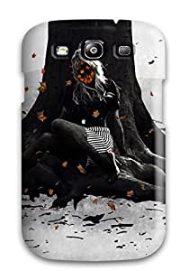 Defender Case With Nice Appearance (woman Artistic) For Galaxy S3