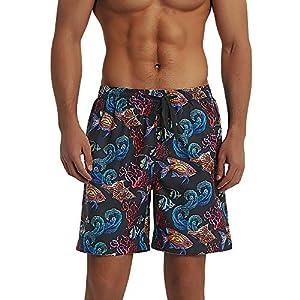 Balcony&Falcon Costume da Bagno Uomo, Short da Bagno Uomo Pantalocini Boxer da Bagno Calzoncini Uomo Pantaloncini da… 1 spesavip