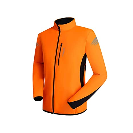 Chaqueta de ciclismo para hombre Chaqueta ciclista para hombre A prueba de viento Respirable Ligero Alta
