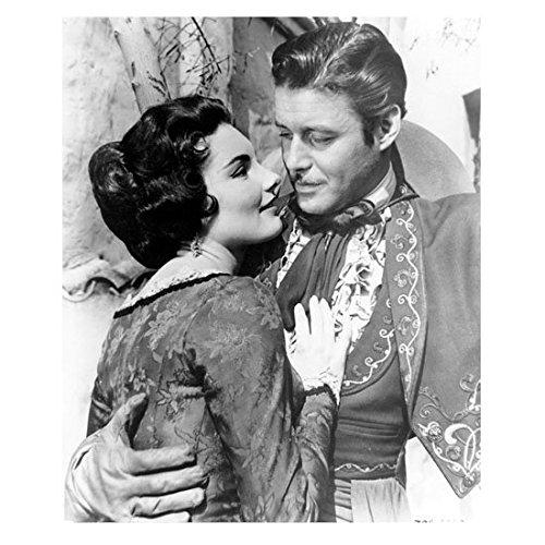 Zorro (TV Series 1957 - 1959) 8 Inch x10 Inch Photo B&W Guy Williams w/Arm Around Beautiful Brunette kn]()