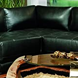 Cheap Coaster Home Furnishings Kayson Upholstered Corner Wedge Black