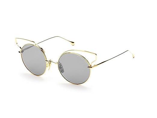 f2641891425 DITA Luxury Eyewear Sunglasses Believer 23008-A-GLD-52 Gold  Amazon.co.uk   Clothing