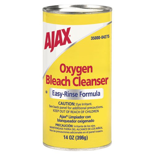 Ajax 04275 14-Ounce Easy Rinse Formula Oxygen Bleach Powder Cleanser (Case of 48) ()