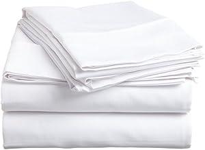Ras Decor Linen Duvet Cover Set Western King,White Solid, 3 Piece Duvet Set (1 Duvet Cover + 2 Pillow case) - Hotel Quality 100% Cotton with Zipper Closure Duvet Cover Western King Size